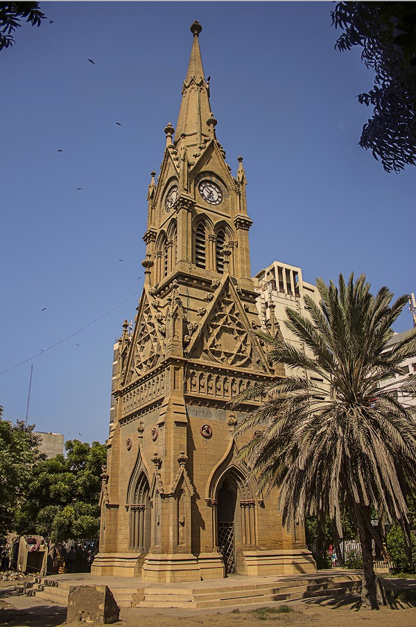 Merewether Clock Tower Karachi