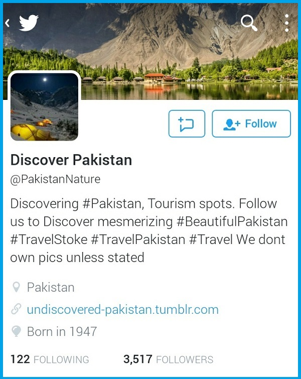 Must Follow twitter accounts if you love Pakistan