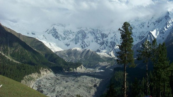 Beautiful Nanga Parbat Mountain Pakistan Nature Wallpaper