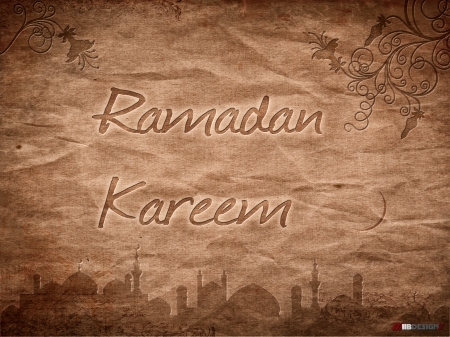 Brown Paper Ramadan Wallpaper