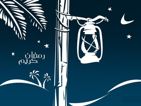 Decent Ramadan Kareem Lantern Wallpaper