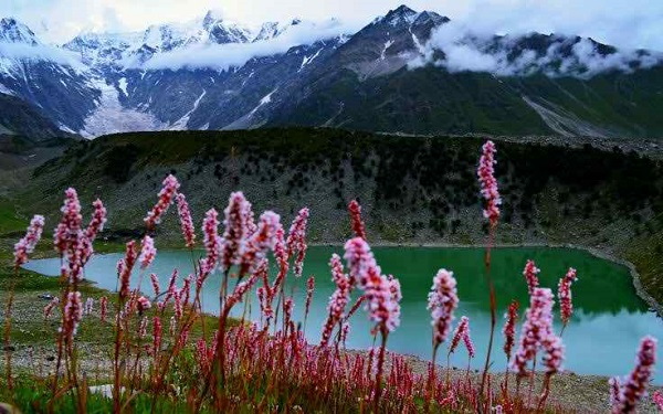 Mountain Lake Landscape Pakistan Nature Wallpaper