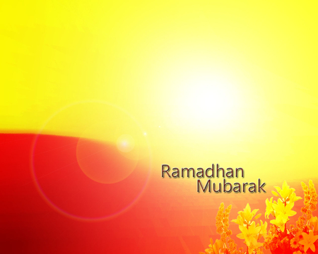 Ramadan Mubarak in English Wallpaper