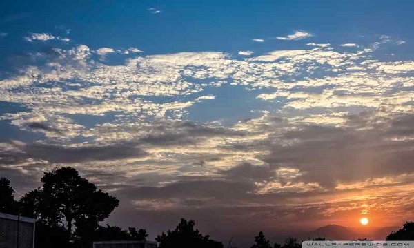 Sunset In Pakistan, Peshawar, Askari 5, Nature Wallpaper