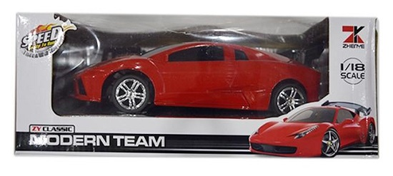 Aladdin Modren Team Remote Sports Car - Buy Online Pakistan