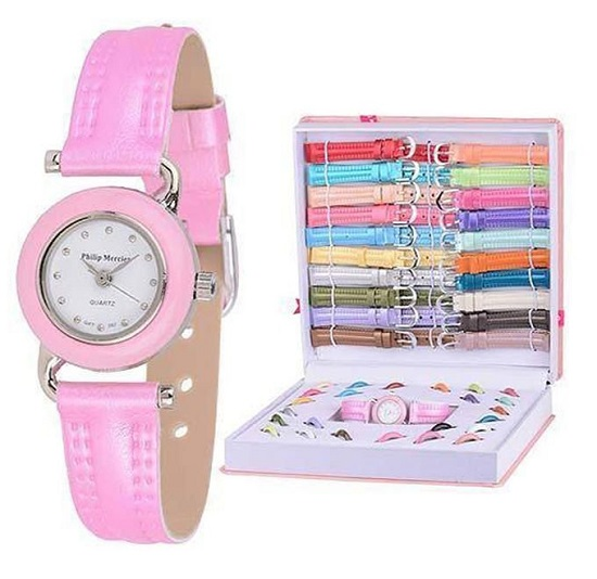 AlphaTronix LGB-01 - Plastic 21 Strap Analog Watch Set - Multicolour - Buy online Pakistan