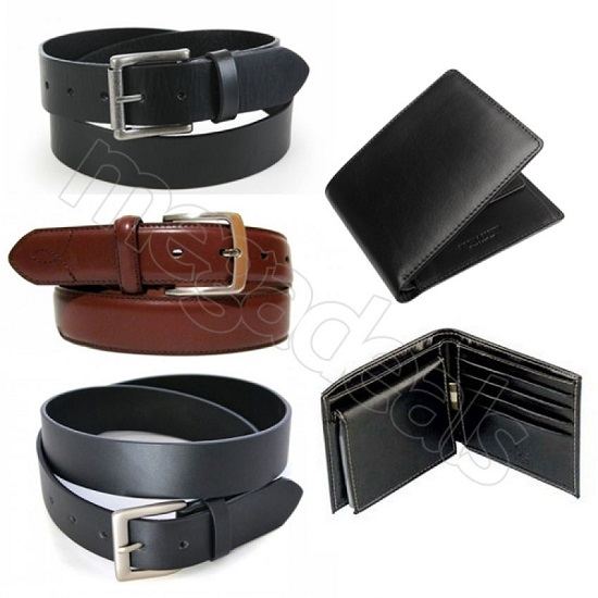 Amazing Eid Offer - Pack of 3 Belts With 2 Free Wallets