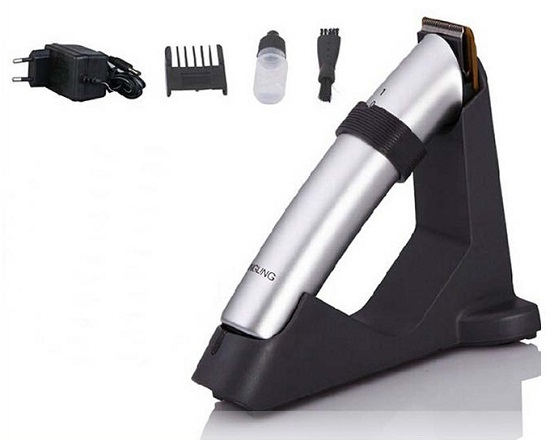 Dingling RF608 - Cordless Hair and Beard Trimmer - Silver