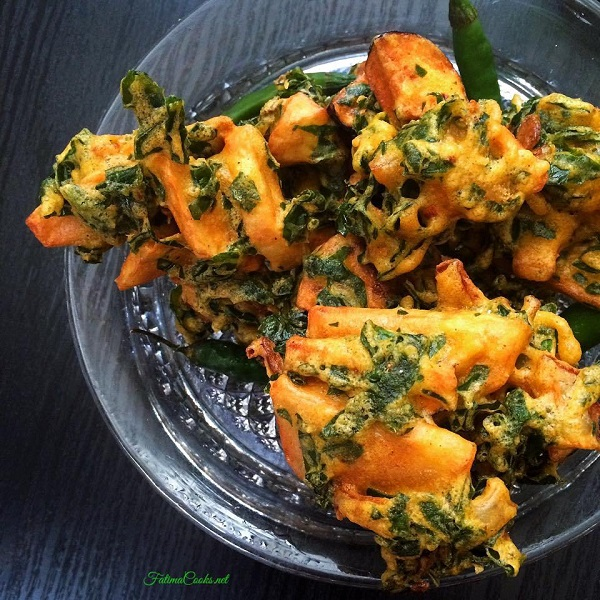 Mixed Vegetable Pakoras Recipe ramadan