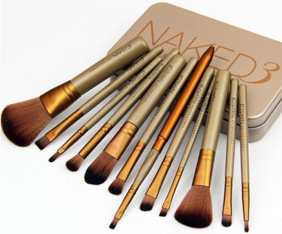 Pack of 12 Naked 3 Brushes Set - Buy online Pakistan