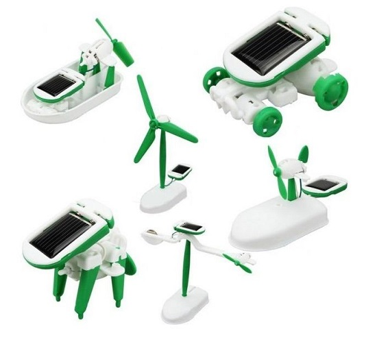 Solar Robot Kit 6 In 1 2011 Bbs-013 - Buy Online Pakistan