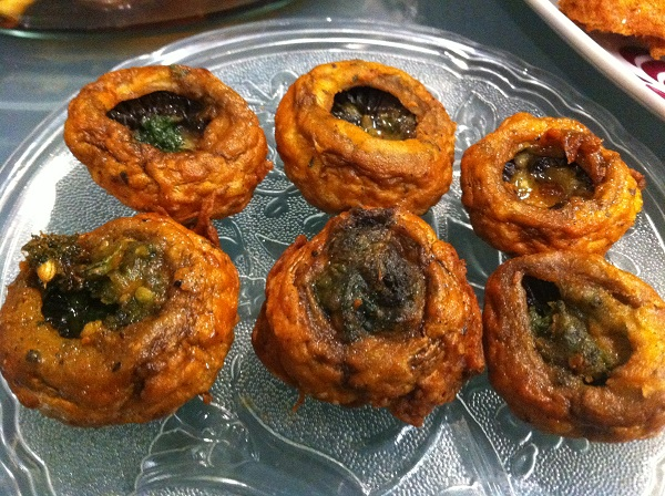 Stuffed Mushrooms (Mushroom Pakora) Recipe ramadan