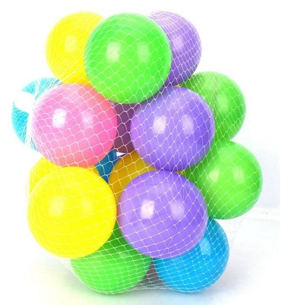 Toy Galaxy Soft Plastic Balls 25 Pcs Set - Multicolour - Buy online Pakistan