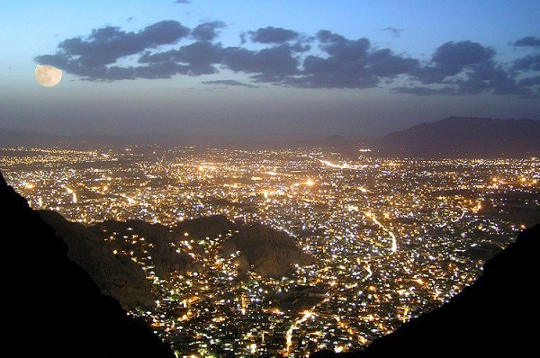 Quetta Night View