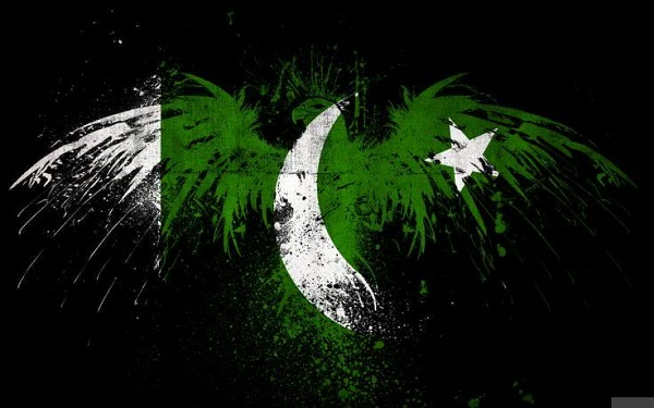 Artistic Eagle And Pakistani Flag Display picture- avatar- wallpapers- 14th august