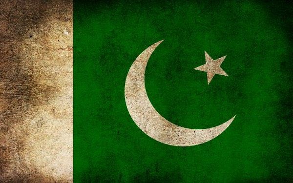 Pakistan Grunge Flag Wallpaper