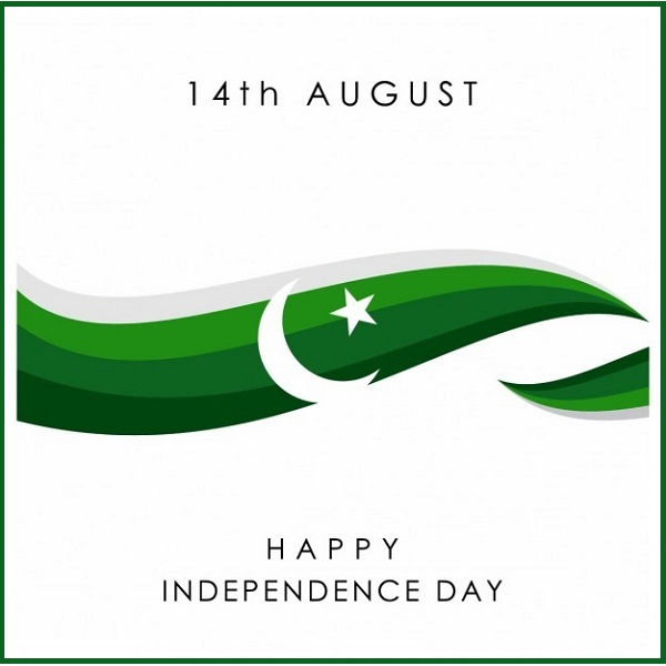 Pakistan Independence Day Background With A Green Wave Display picture- avatar- wallpapers- 14th august