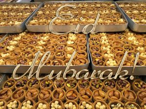 Baklava Happy Eid Mubarak Picture Wallpaper