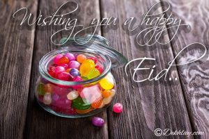 Candy Happy Eid Mubarak Picture Wallpaper