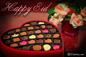 Heart Chocolate Box Turkey Mosque Happy Eid Mubarak Picture Wallpaper
