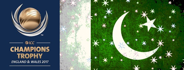 Pakistan ICC Champions Trophy Winners 2017 flag