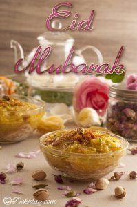 Yummy Sawaiyaan Happy Eid Mubarak Picture Wallpaper 2017