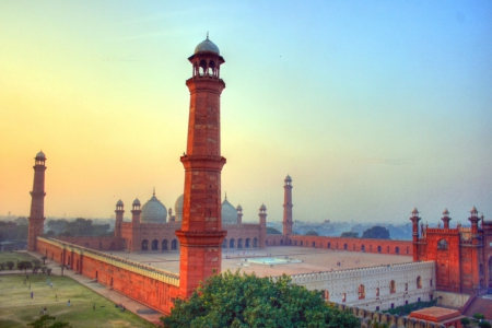 Badshahi Mosque Pakistan Wallpaper