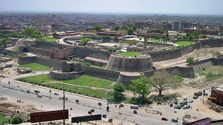 Bala Hisar Fort Pakistan Wallpaper