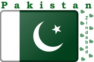 Green and white Pakistan Zindabad Flag HD Wallpaper