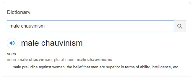 male-chauvinism-meaning-dictionary
